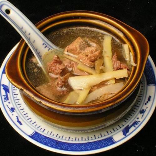 原汁原味老鸭汤