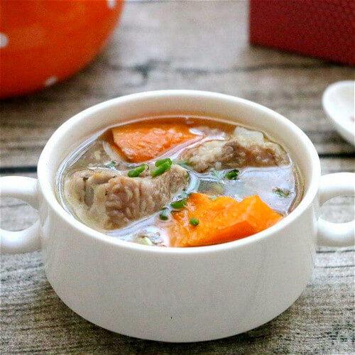 蛤蜊炖排骨汤
