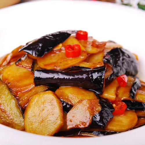 【懒人版】川味鱼香土豆茄子