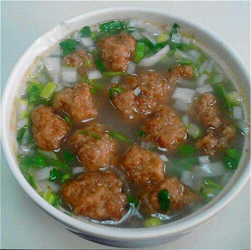 菌菇杂丸汤