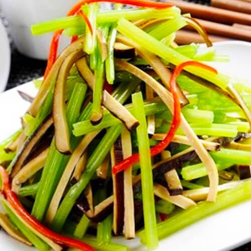 香干拌芹菜