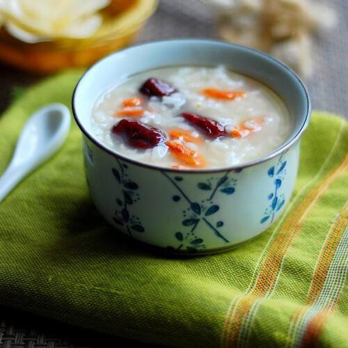红枣大米稀饭