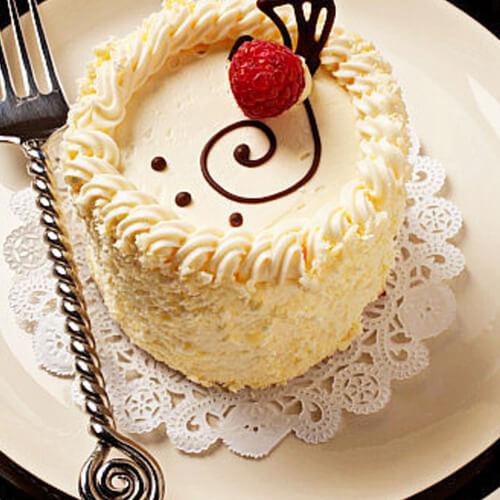 印花奶油蛋糕