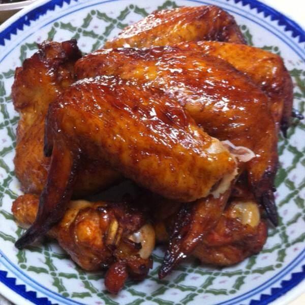 辣酱烤鸡翅