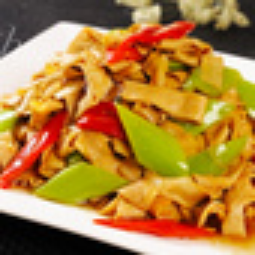 可口的尖椒干豆腐的做法