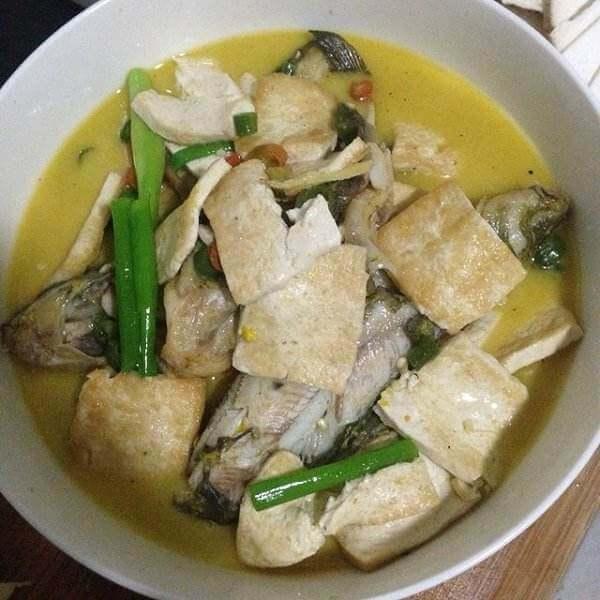 可口的豆腐炖鱼的做法