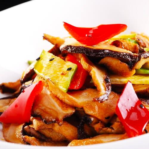 鲜香滋味的香菇炒肉的做法