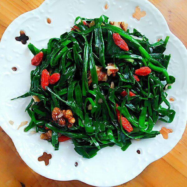 淡菜炒韭菜