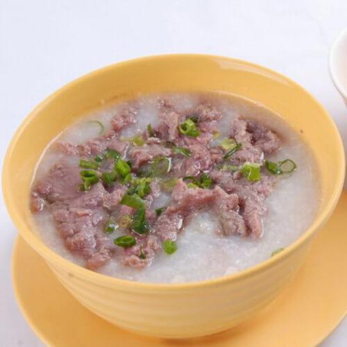 番茄牛肉粥