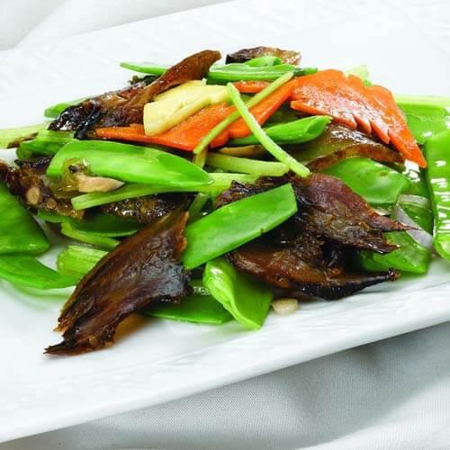 冬菇蚝香荷兰豆