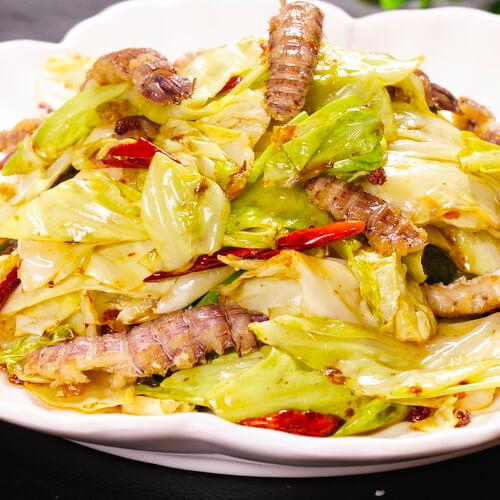 家庭版瘦肉炒大头菜