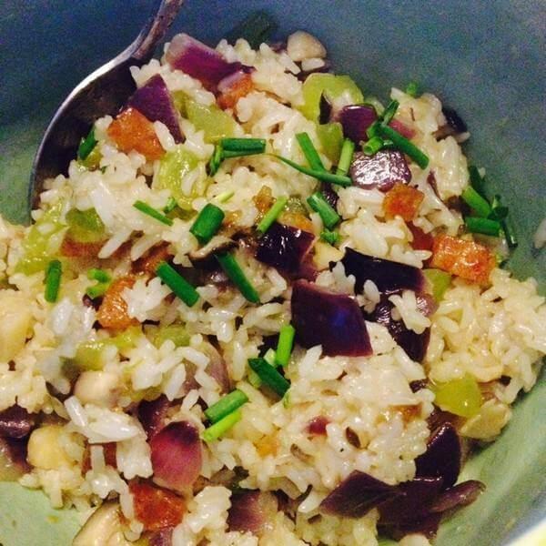 烤肠炒米饭