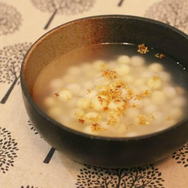鸡头米栗子粥(简单版)
