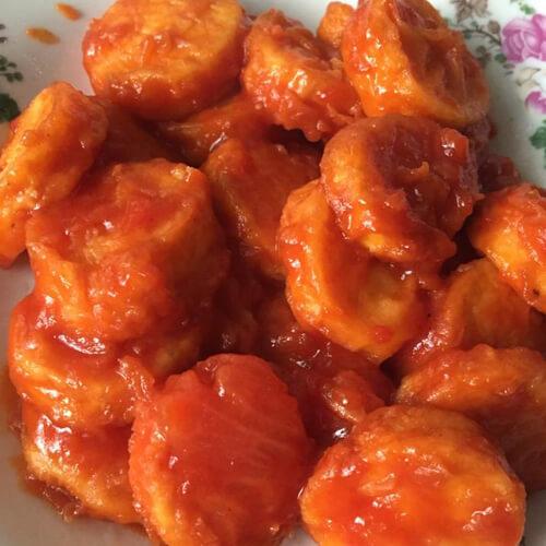 开胃的茄汁豆腐