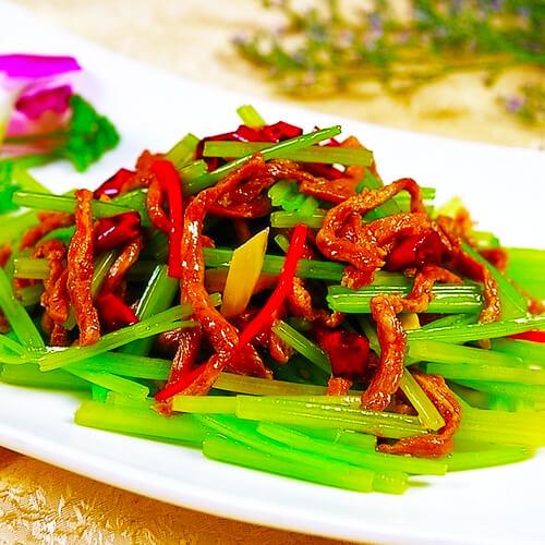 椒香紫茄炒牛肉