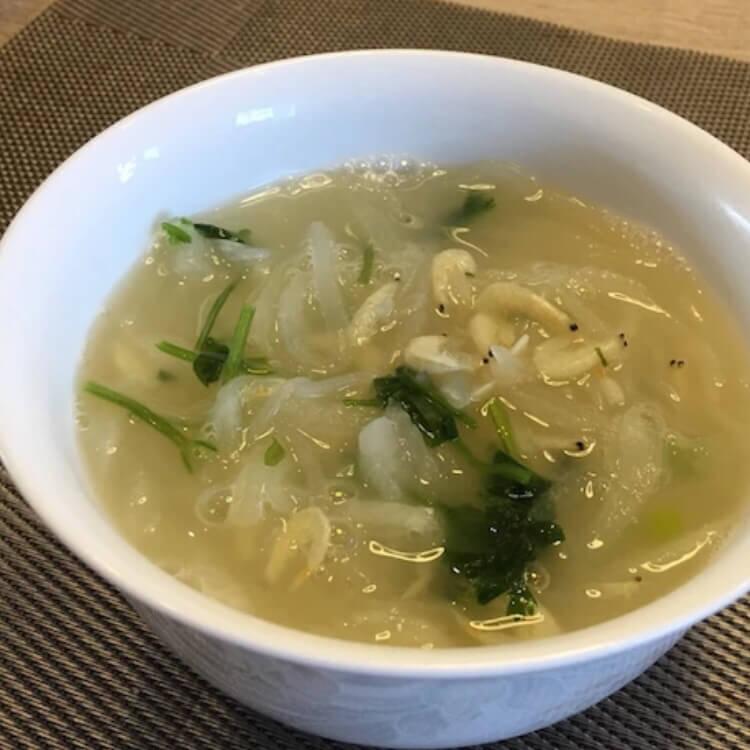 虾皮萝卜粉丝汤(简单版)