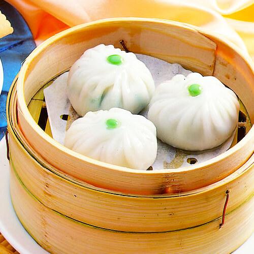 色香味俱全的翡翠白菜饺