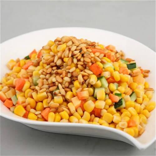 家常椒盐玉米的做法