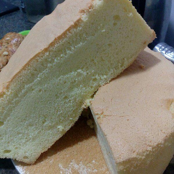 葡萄干豆浆海绵蛋糕