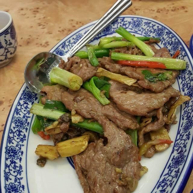椒香小南瓜炒牛肉