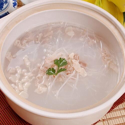蘑菇豆腐粉丝汤