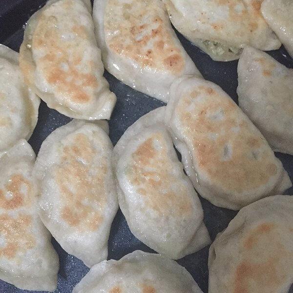 豆腐猪肉生煎饺