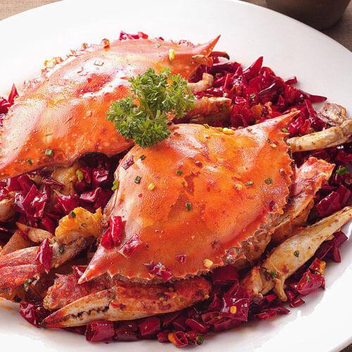 美味的香辣蟹的做法