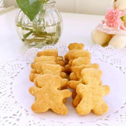 无糖葱香玉米面饼干