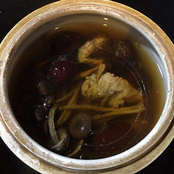 最爱的排骨煲雷公根汤