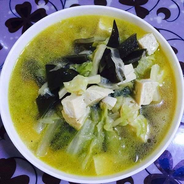 海带豆腐杂烩汤(简单版)