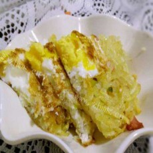 美美厨房之窝蛋土豆丝饼
