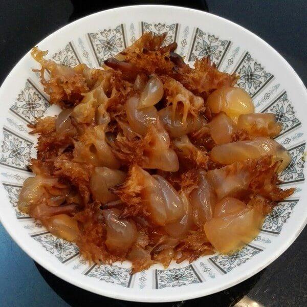 海蜇头拌芹菜