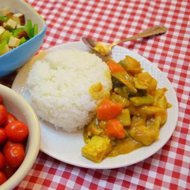 茄子胡萝卜饭(简单版)
