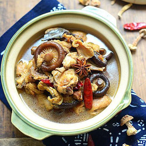 小鸡顿蘑菇