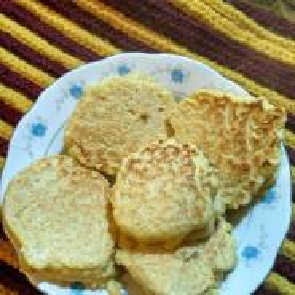 芝麻豆渣苹果饼