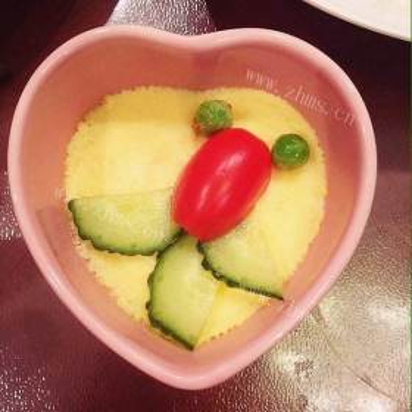 番茄芝士鸡蛋羹