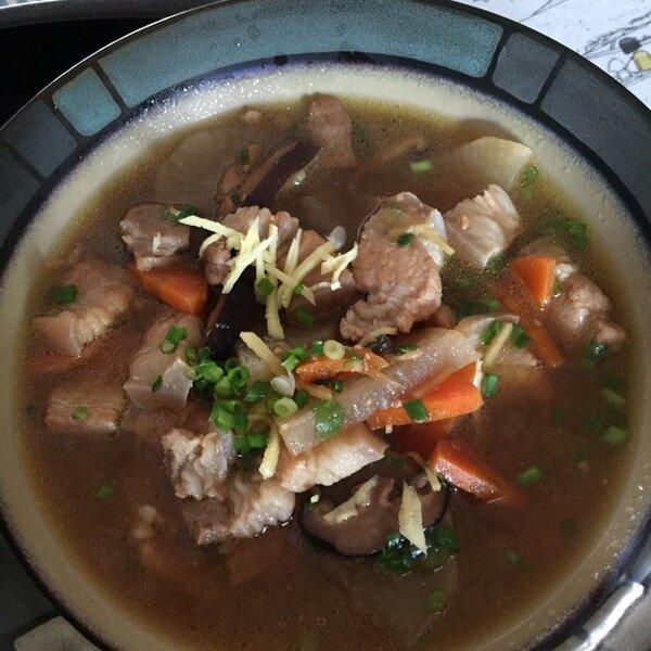 红枣猪肉汤