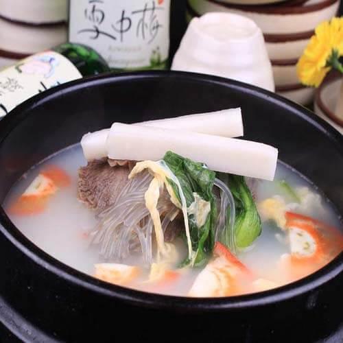 牛肉年糕汤