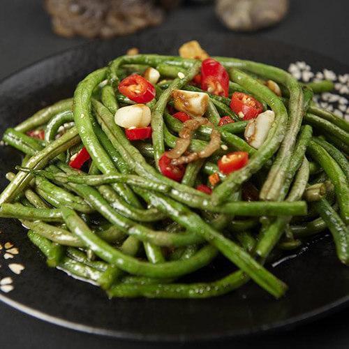 鱼卷炒荷兰豆(简单版)
