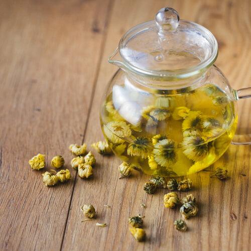 可口柠檬枸杞菊花茶