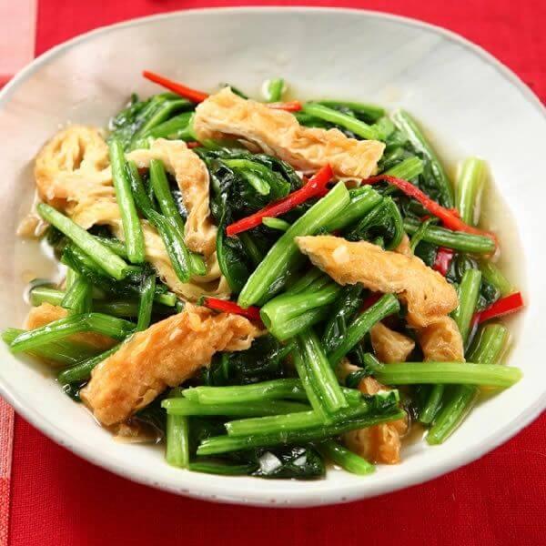 鲜菇肉丝大白菜