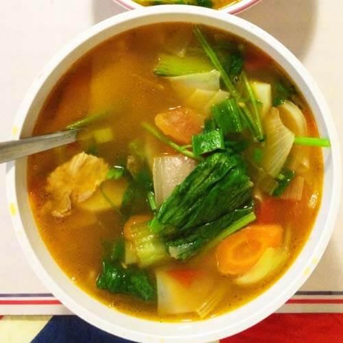 开胃的新疆汤饭