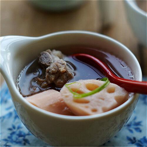 清炖排骨藕汤