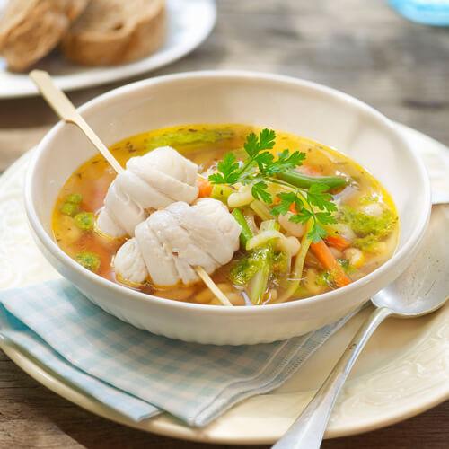 青萝丝鱼丸汤