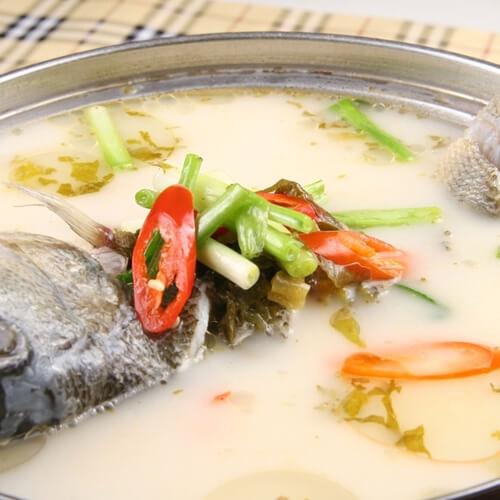 黄瓜鲈鱼汤