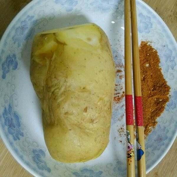 微波炉烤土豆