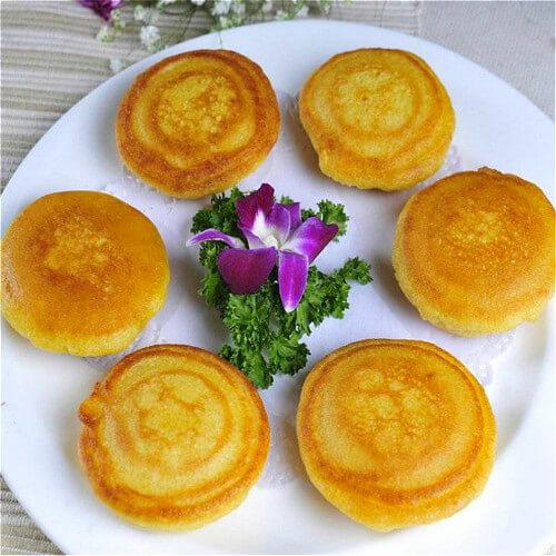 香甜玉米软饼