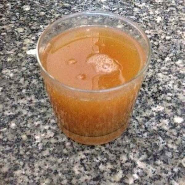 在家做的苹果柠香汁