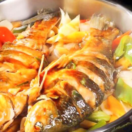 妈妈做的三汁草鱼焖锅
