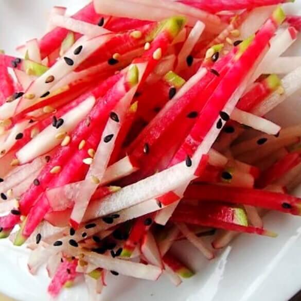糖醋水果萝卜丝